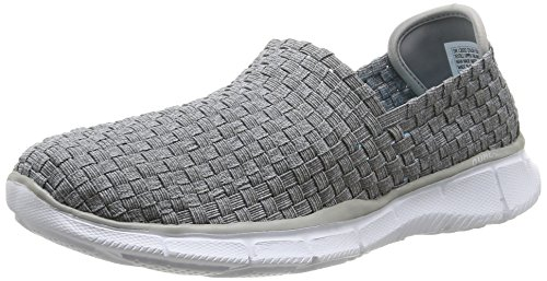 SkechersEqualizer Dream On - Scarpe sportive indoor Donna , Grigio (Grigio (Gry)), 40