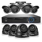 SANNCE� 8CH Full 960H CCTV DVR QR Cod...