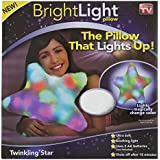 Bright Light Twinkling Star Pillow