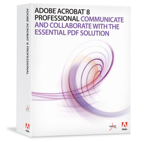 Adobe Acrobat Professional 8.0 Upgrade From Pro V5+ (Mac) [Old Version]