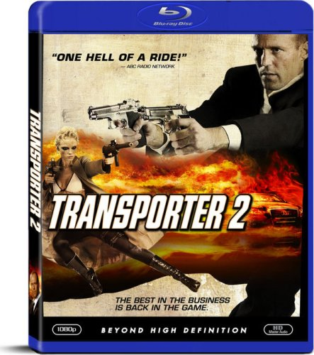Transporter 2 blu-ray cover & label (2005) R1