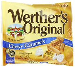Werther\'s Chewy Candy, Original, 9 Ounce