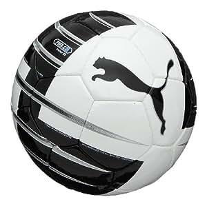 PUMA Fußball PowerCat 5.10 Trainer HS, white-black-PUMA silver-fluo blue, 4, 081490 10