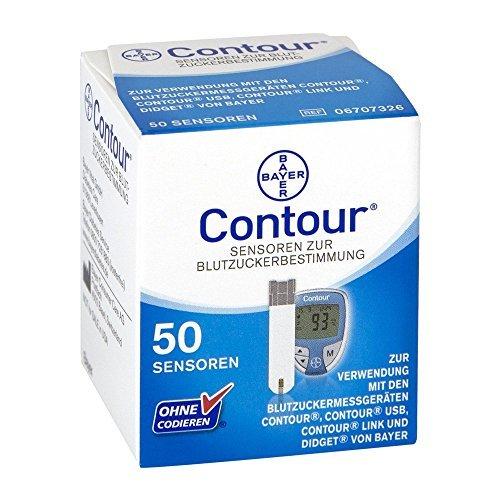 Contour Sensoren Teststreifen 50 stk by Bayer Vital GmbH