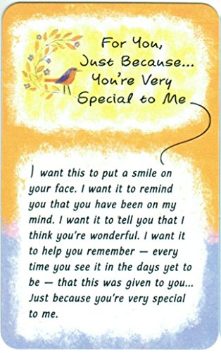 Blue Mountain Arts Wallet Card Just Because You're Very Special to Me