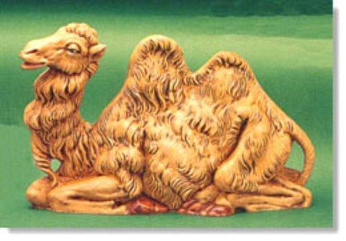 Roman Fontanini Seated Camel, 7.5 Inch Scale