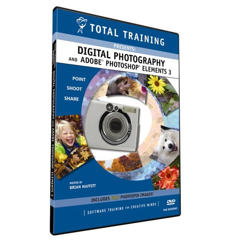 TOTAL TRAINING Total Training Digital Photography Photoshop Elements 3