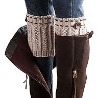 WILLTOO® 2015 Women Leg Warmer Knit Boot Socks Topper Cuff