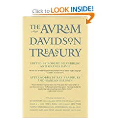 The Avram Davidson Treasury: A Tribute Collection by Avram Davidson,&#32;Robert Silverberg and Grania Davis