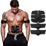 Abdominal Muscle Toner,KIVO Trainer Body Fit Toning Belt,Fitness Training Gear,Wireless Muscle Exercise for Abdomen/Thigh/Arm/Calf/Hip Training,Christmas Gift/Present Mobile-Gym for Men and Women