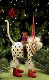 Patience Brewster Pat Santa Hat Cat Figure (08-30623)
