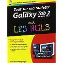 Tout sur ma tablette Samsung Galaxy (Tab 2 et Note 10.1) pour les Nuls