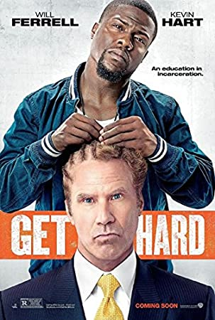 GET HARD - Original Movie Poster Double Sided 27x40 Hart,