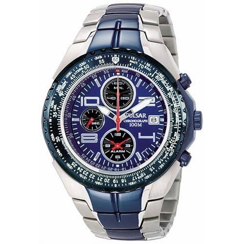Amazon.com: Pulsar Men's PF3185 Tech Gear Flight Computer Watch