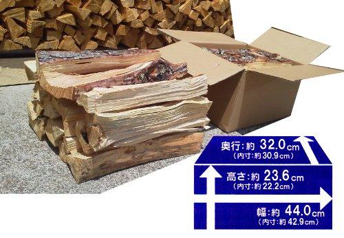 焚き木B 容量30Lのダンボール箱入1箱 【産地】長野県 薪の長さ約40cm【樹種】良く燃える唐松・赤松・その他雑木