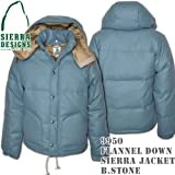 Flannel Down Sierra Jacket 9950: Blue Stone