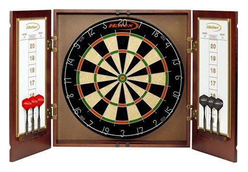 8± Halex 64775 Winsford Bristle Dartboard Cabinet Set
