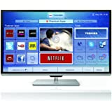Toshiba 50L7355DB 50-inch Widescreen Full HD 1080p Smart 3D Slim LED TV with Freeview HD (discontinued by manufacturer)
