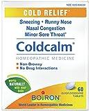 Boiron - Coldcalm - 60 Tablets