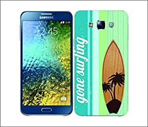 Galaxy Printed 2914 SurfBoards Palm Hard Cover for Samsung Core Prime