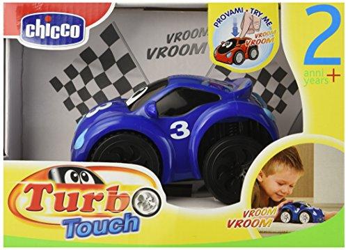 Chicco 61780 Turbo Touch Fastblue, Macchinina Elettronica Premi e Vai