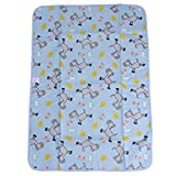 Hengsong Baby Folding Travel Changing Mat Washable Diaper Cartoon Changing Mat Pad Horse