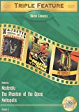 echange, troc Horror Classics Triple Feature, Vol. 1 (Metropolis (1927) / Nosferatu (1922) / The Phantom of the Opera (1925) [Import USA Zone