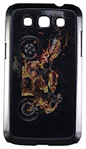 Zeztee ZT4839 3D Design Plastic Mobile Back Cover For Samsung Grand Quattro (8552) (Multicolor)