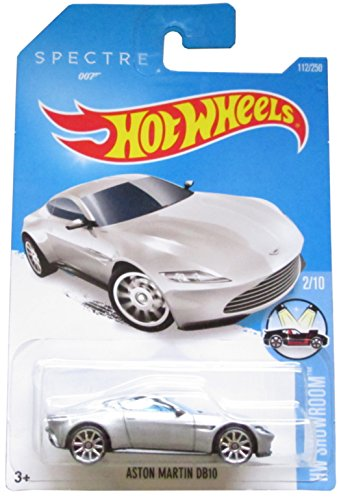 Hot Wheels, 2016 HW Showroom, Aston Martin DB10 [Silver] 007 Spectre Die-Cast Vehicle #112/250 (Aston Martin Cars compare prices)