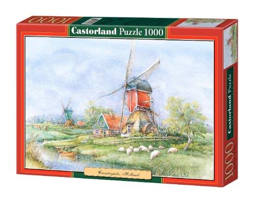 Landschaft in Holland - 1000 Teile Querformat Puzzle von Castorland Neu&OVP