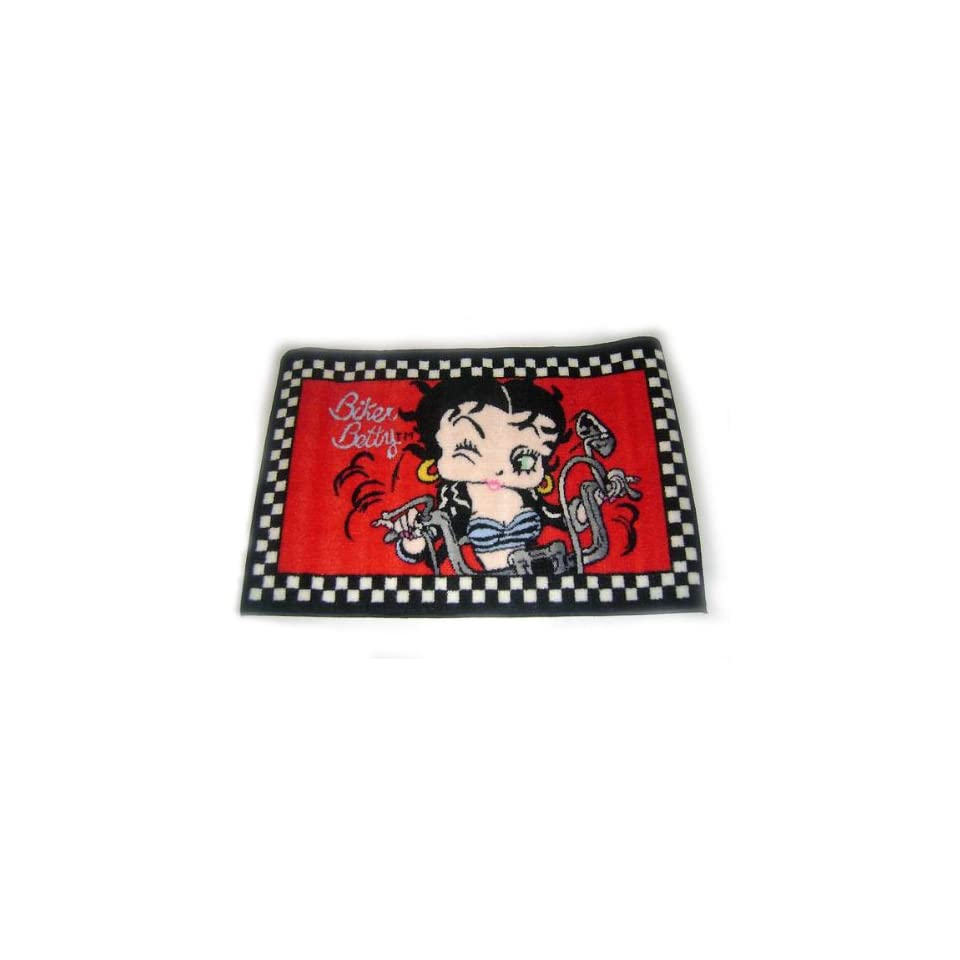 Three Sizes Available Betty Boop Western Area Rug