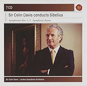 Sir Colin Davis dirige Sibelius : Symphonies n° 1 à n° 7 - Poèmes symphoniques