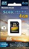 ハギワラシスコム SDHCカード Class4 4GB ブラック HPC-SDH4GB4C