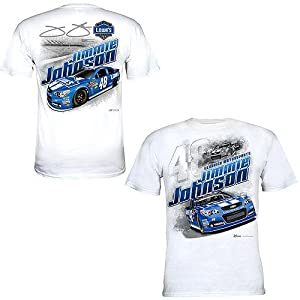 Jimmie Johnson Mens Chase Authentics NASCAR Lowes Draft T-Shirt - 2013 by MotorsportsAuthentics