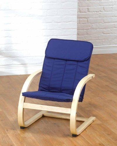 Kids Childrens Relaxer Rocking Rocker Chair - BLUE