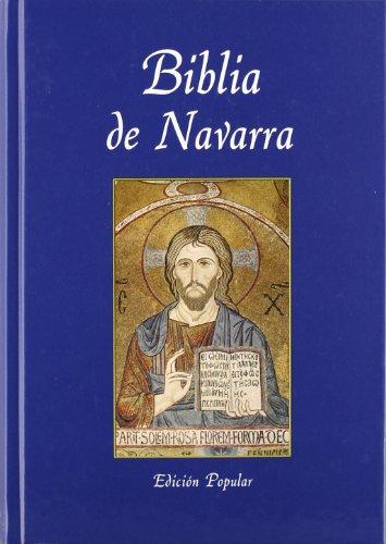 Biblia De Navarra (Edicion Popular)