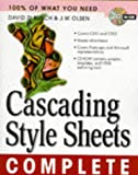Cascading Style Sheets Complete (0079137032) by Busch, David D.