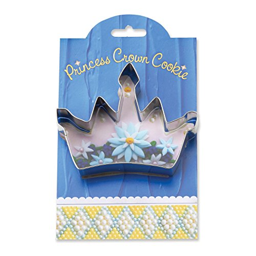 Princess Crown Cookie and Fondant Cutter - Ann Clark - 4.6 Inches - US Tin Plated Steel (Martini Cookie Cutter compare prices)