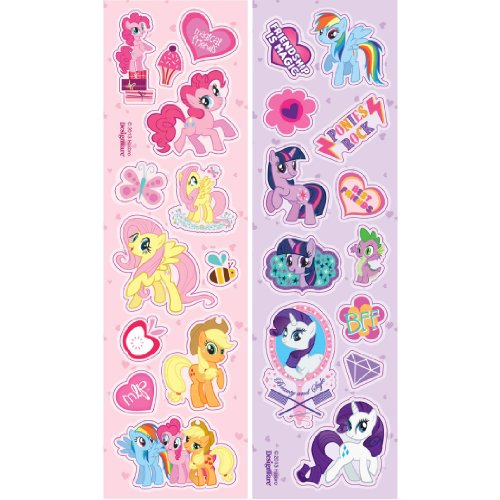American Greetings My Little Pony Sticker Sheets (8-Count) - 1