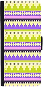 Snoogg Brick Aztec Designer Protective Phone Flip Case Cover For Yu Yuphoria