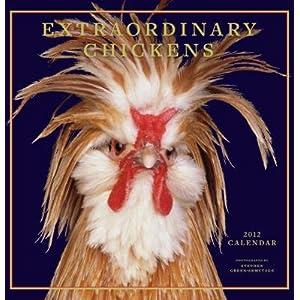 Steven Green Armytage Extraordinary Chickens 2012 Calendar - 12x12
