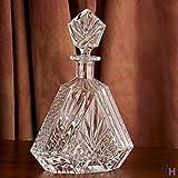 Godinger Silver Art Dublin Triangular Crystal Decanter - Decanter