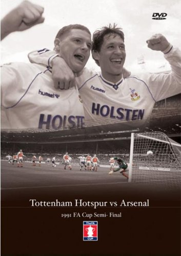 1991 FA Cup Semi Final Tottenham Hotspur v Arsenal [DVD]
