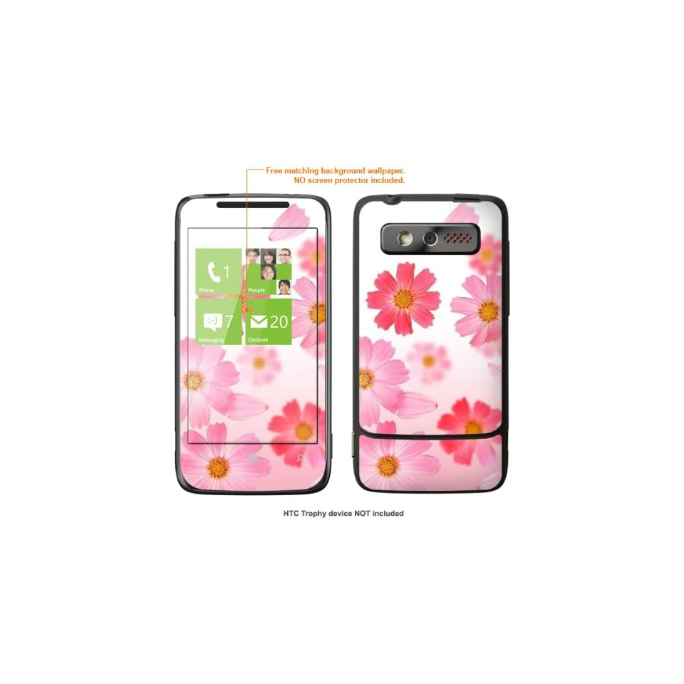 Protective Decal Skin STICKER for HTC 7 Trophy T8686 case cover Trophy 563