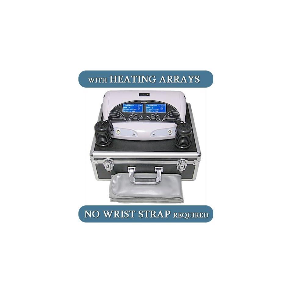 LCD Ionic Detox Foot Bath Heating Arrays FIR Belts   No Wrist Straps