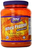 NOW Foods Whey Protein Dutch Chocolate, 2 Pounds