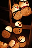 1 Set of Lovely Snowman Lights Set Lighting String Wire Lamp White Color Home Decoration, Patio, Living Room, Kid Bedroom, Yard & Garden Indoor and Outdoor of Birthday, Christmas, Wedding, New Year, Anniversary, Ceremony, Graduation Day, Valentine Party