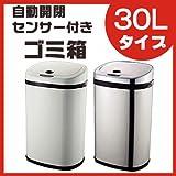 センサー付きゴミ箱 30Lタイプ SS-30LS02 (こちらの商品の内訳は『番号(2)/シルバー』のみ)
