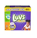 Luvs With Ultra Leakguards Diapers, Size 3, 186 Count