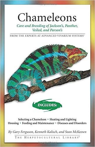 Chameleons: Care and Breeding of Jackson's, Panther, Veiled, and Parson's (Advanced Vivarium Systems) written by Gary Ferguson